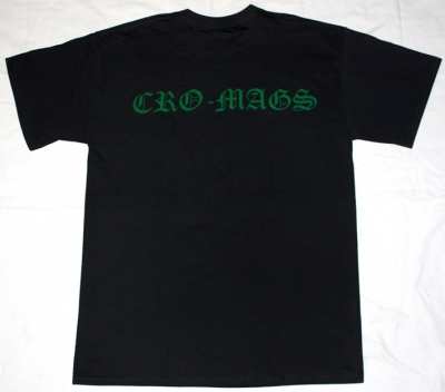 CRO-MAGS THE AGE OF QUARREL'86  NEW BLACK T-SHIRT