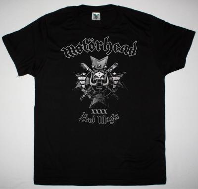 MOTORHEAD BAD MAGIC NEW BLACK T-SHIRT