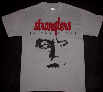THE STRANGLERS IN THE NIGHT'92  NEW CHARCOAL GREY T-SHIRT