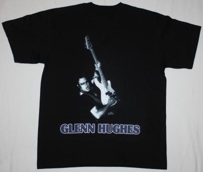 GLENN HUGHES SOLO NEW BLACK T-SHIRT