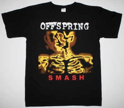 THE OFFSPRING SMASH TOUR 2014 NEW BLACK T-SHIRT
