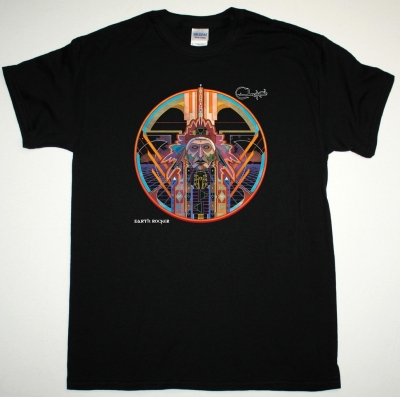CLUTCH EARTH ROCKER NEW BLACK T-SHIRT