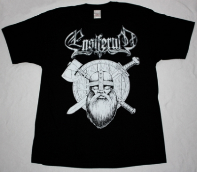 ENSIFERUM VIKING NEW BLACK T-SHIRT