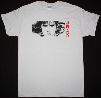 U2 WAR'83 NEW WHITE T-SHIRT
