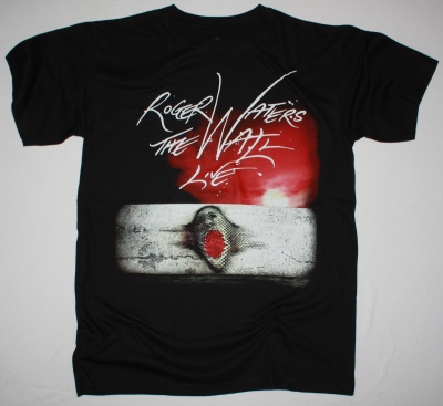ROGER WATERS THE WALL RETURNS NEW BLACK T-SHIRT