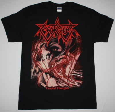 MORGUE ERODED THOUGHTS NEW BLACK T-SHIRT