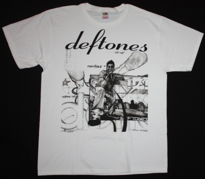 DEFTONES RARITIES NEW WHITE T-SHIRT