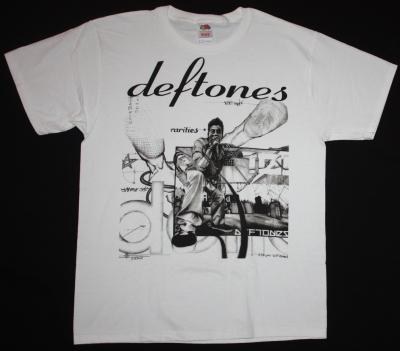 DEFTONES RARITIES NEW WHITE T-SHIRT