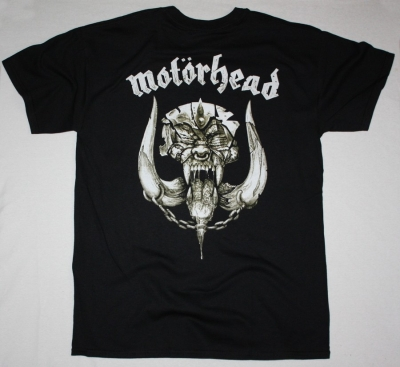 MOTORHEAD KISS OF DEATH NEW BLACK T-SHIRT
