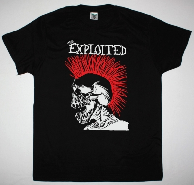 EXPLOITED LET'S START A WAR NEW BLACK T-SHIRT