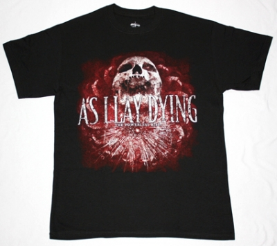 AS I LAY DYING THE POWERLESS RISE NEW BLACK T-SHIRT