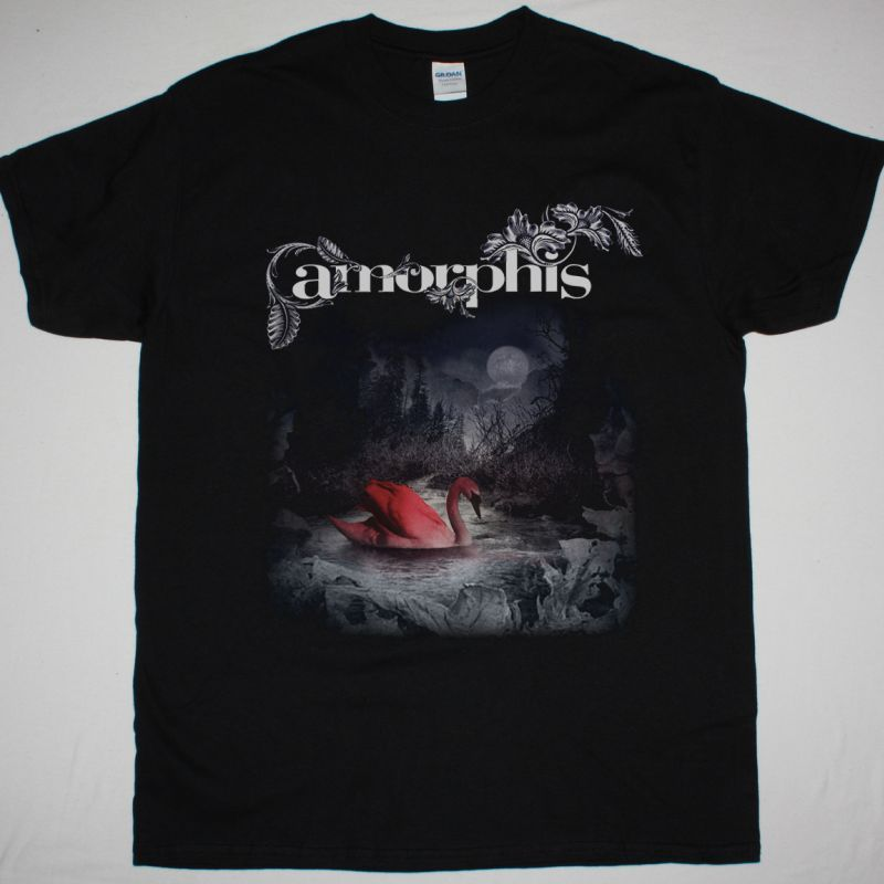 AMORPHIS SILENT WATERS NEW BLACK T SHIRT
