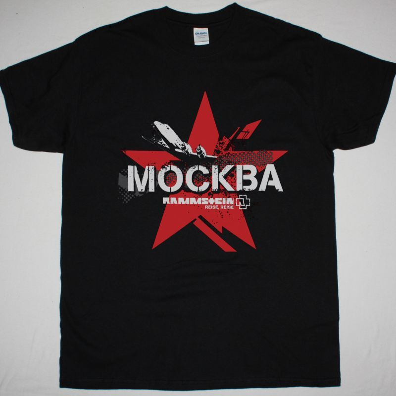 RAMMSTEIN MOSKVA NEW BLACK T-SHIRT