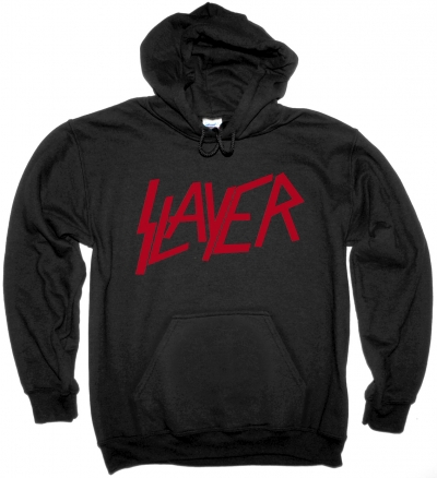 SLAYER LOGO NEW BLACK HOODIE