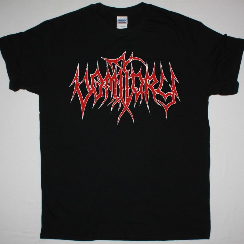 VOMITORY LOGO NEW BLACK T SHIRT