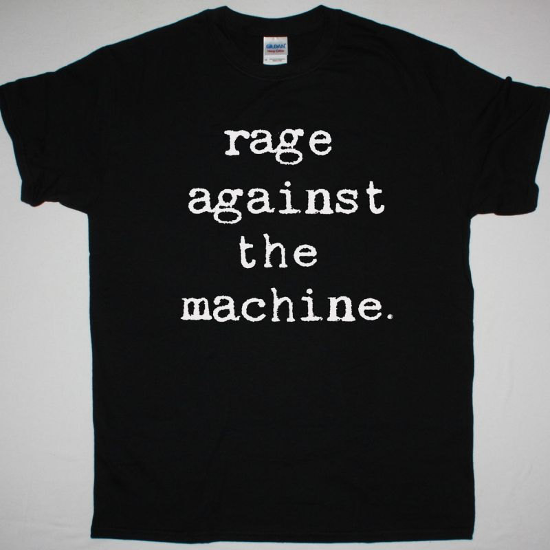 RAGE AGAINST THE MACHINE SIMPLE LOGO NEW BLACK T SHIRT