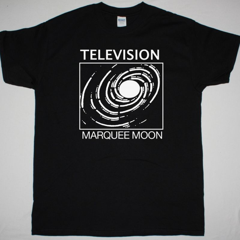 TELEVISION MARQUEE MOON NEW BLACK T-SHIRT