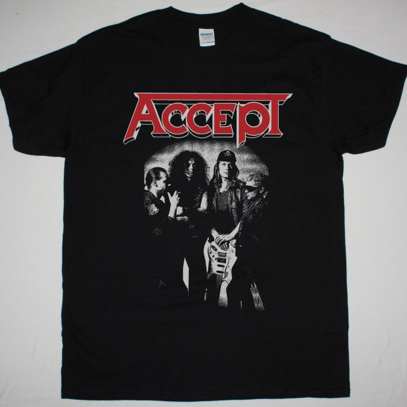ACCEPT OBJECTION OVERRULED NEW BLACK T-SHIRT