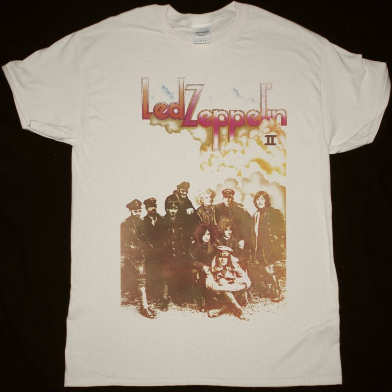 LED ZEPPELIN II NEW NATURAL T SHIRT