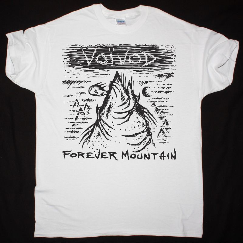 VOIVOD FOREVER MOUNTAIN NEW WHITE T SHIRT