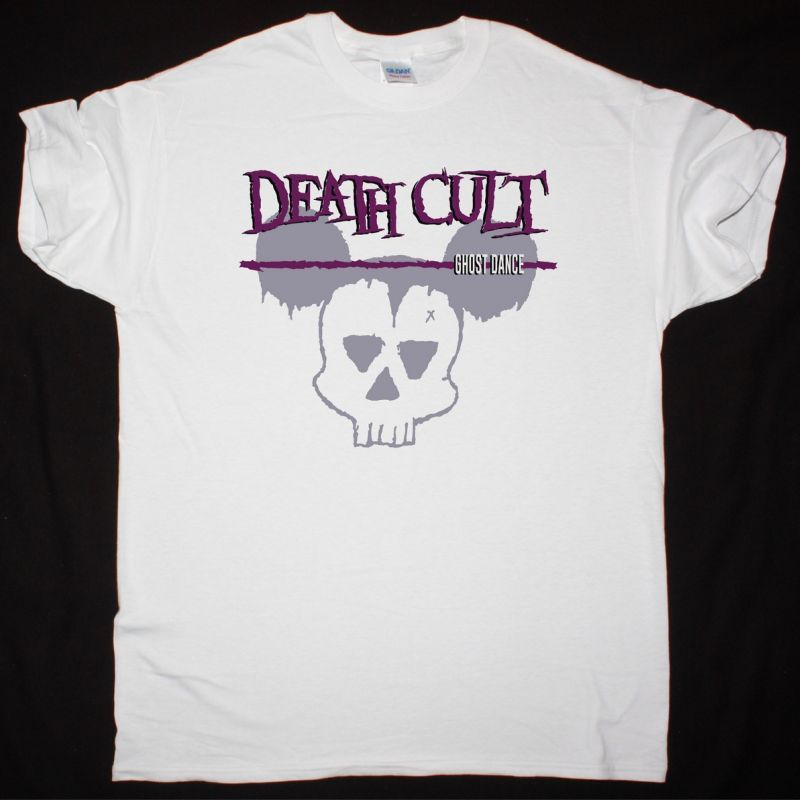 DEATH CULT GHOST DANCE  NEW WHITE T-SHIRT