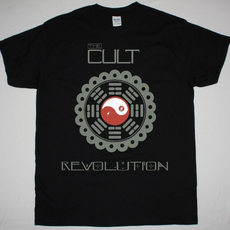 THE CULT REVOLUTION NEW BLACK T-SHIRT