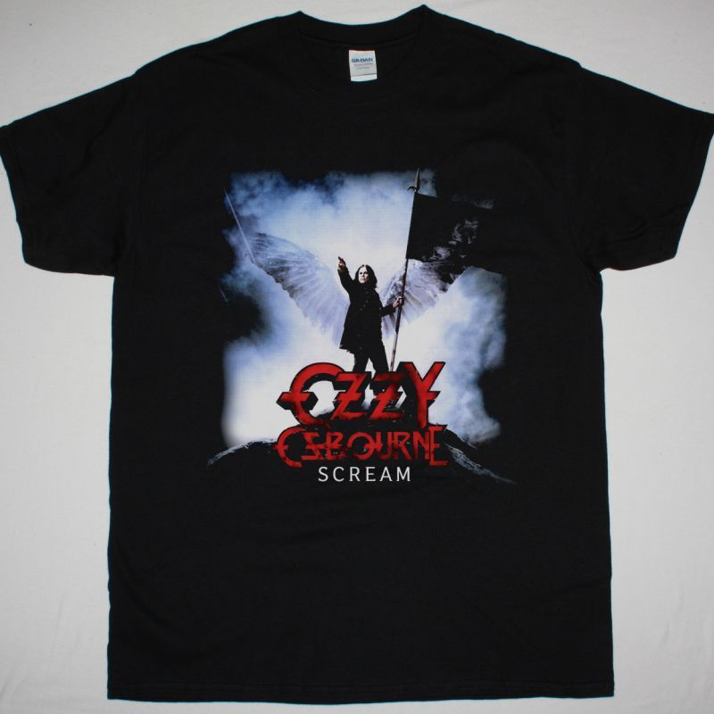OZZY OSBOURNE SCREAM NEW BLACK T-SHIRT