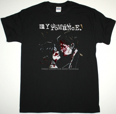 MY CHEMICAL ROMANCE THREE CHEERS FOR SWEET REVENGE NEW BLACK T-SHIRT