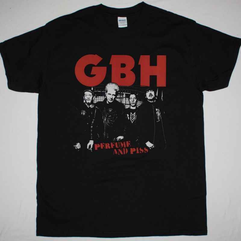 GBH PERFUME AND PISS NEW BLACK T SHIRT