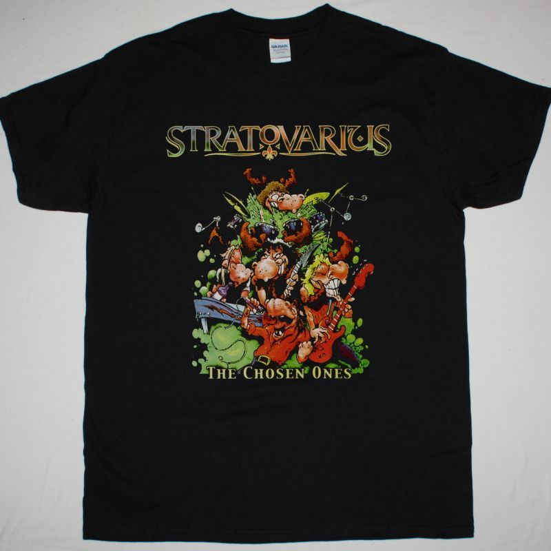 STRATOVARIUS THE CHOSEN ONES NEW BLACK T-SHIRT