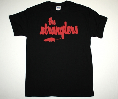 THE STRANGLERS LOGO NEW BLACK T-SHIRT