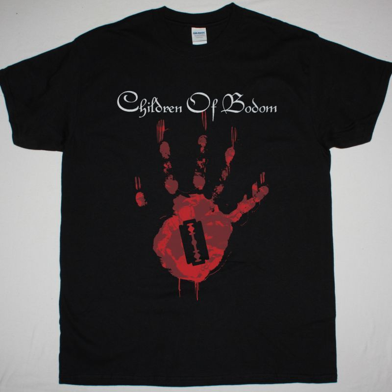CHILDREN OF BODOM HAND NEW BLACK T-SHIRT