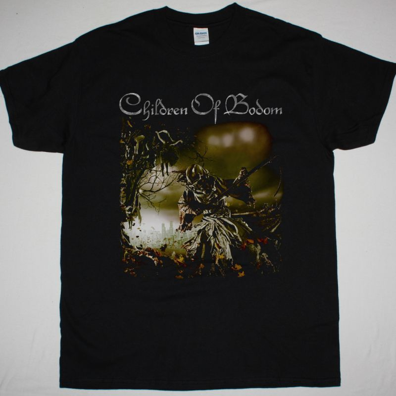 CHILDREN OF BODOM RELENTLESS RECKLESS FOREVER NEW BLACK T-SHIRT