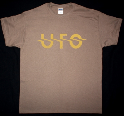 UFO LOGOSHIRT NEW BROWN T-SHIRT
