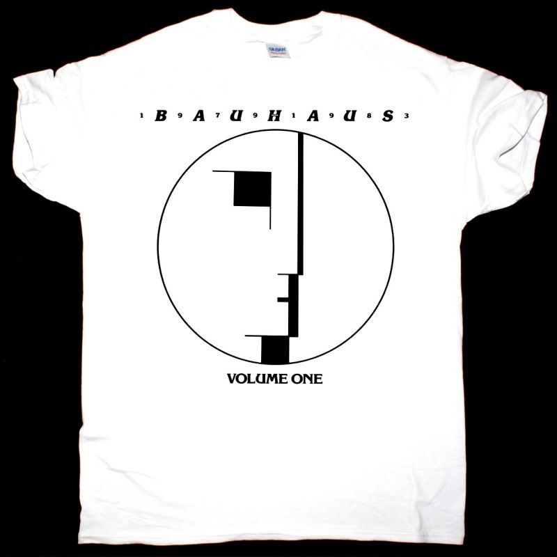 BAUHAUS VOULME ONE NEW WHITE T-SHIRT