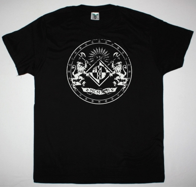 MACHINE HEAD LOGO NEW BLACK T-SHIRT