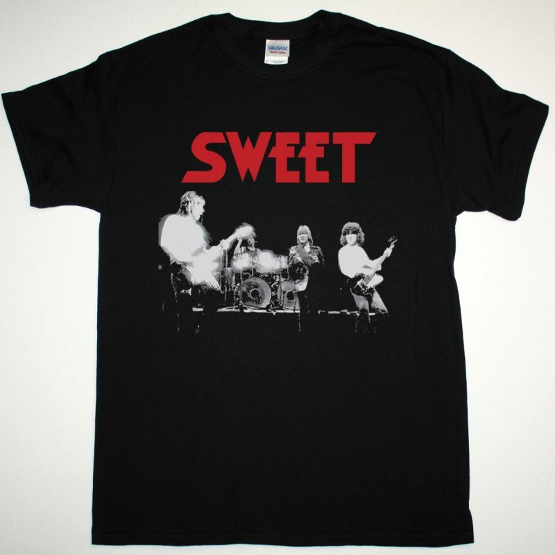 SWEET LEVEL HEADED TOUR NEW BLACK T-SHIRT