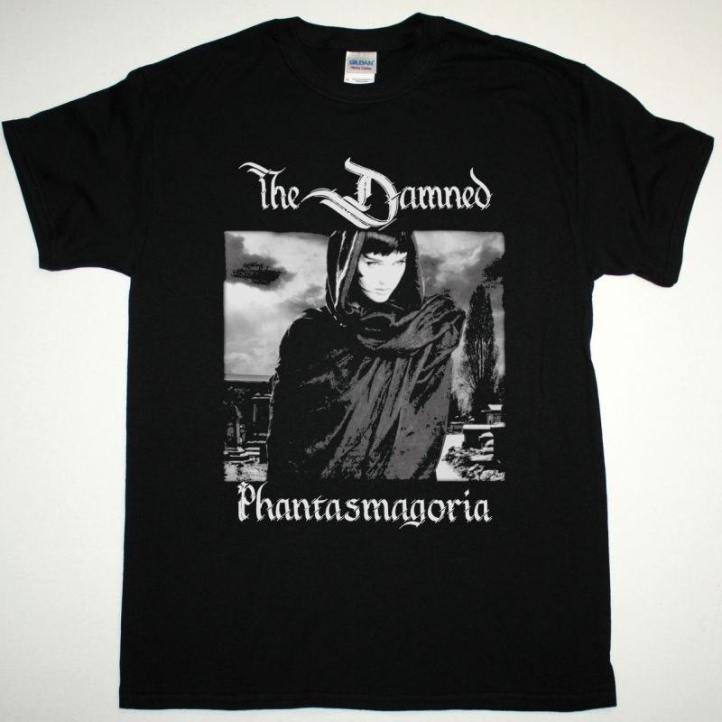 THE DAMNED PHANTASMAGORIA NEW BLACK T SHIRT