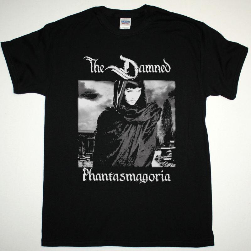 THE DAMNED PHANTASMAGORIA NEW BLACK T SHIRT