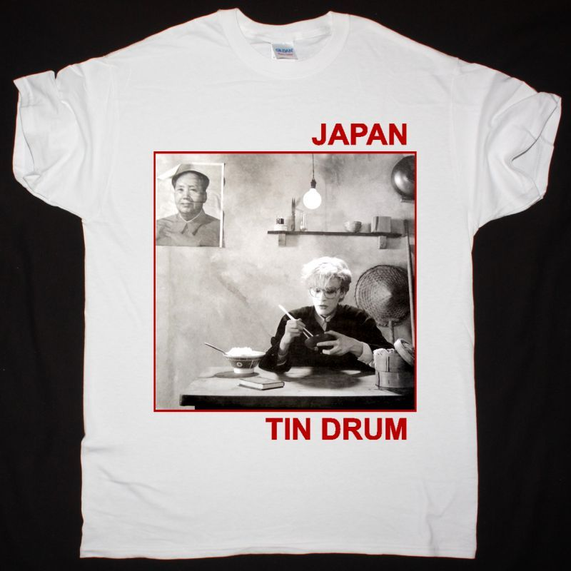 JAPAN TIN DRUM NEW WHITE T SHIRT