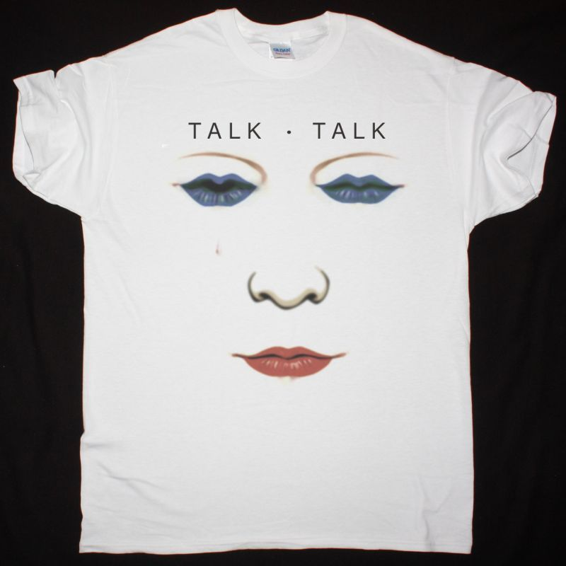 TALK TALK THE PARTY'S OVER  NEW WHITE T SHIRT