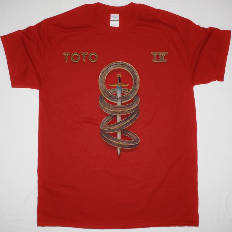 TOTO IV NEW RED T-SHIRT