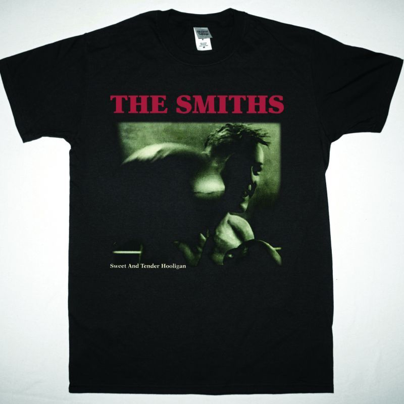 THE SMITHS SWEET AND TENDER HOOLIGAN NEW BLACK T SHIRT