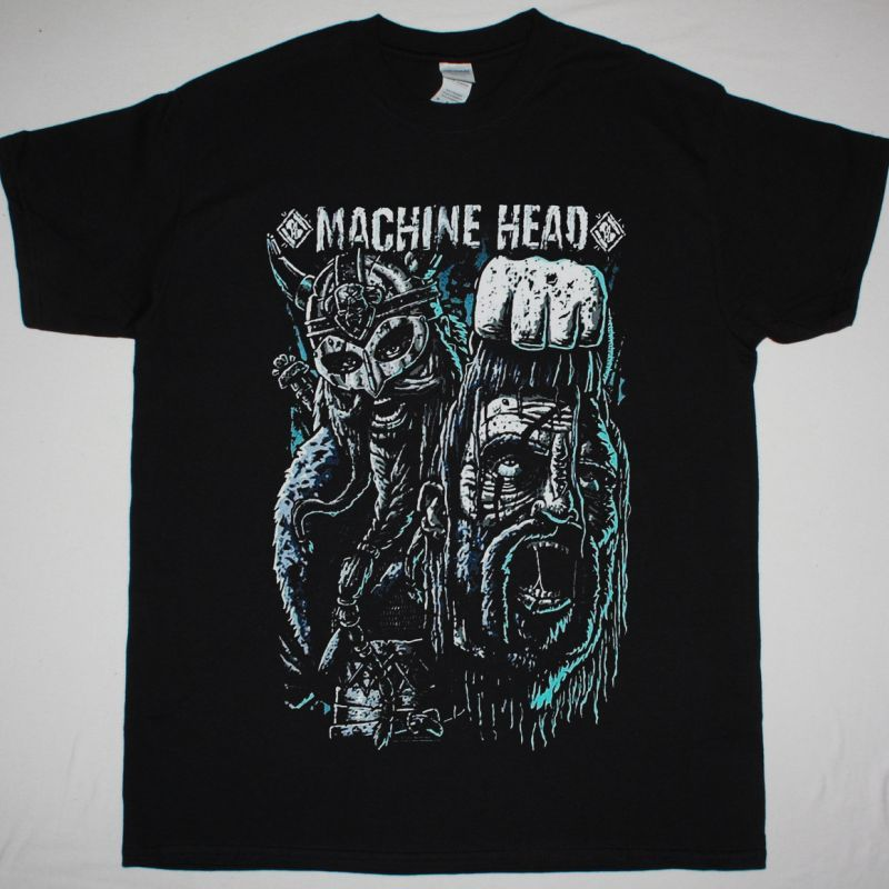 MACHINE HEAD HOIST THE HEAD OF GOLIATH NEW BLACK T-SHIRT