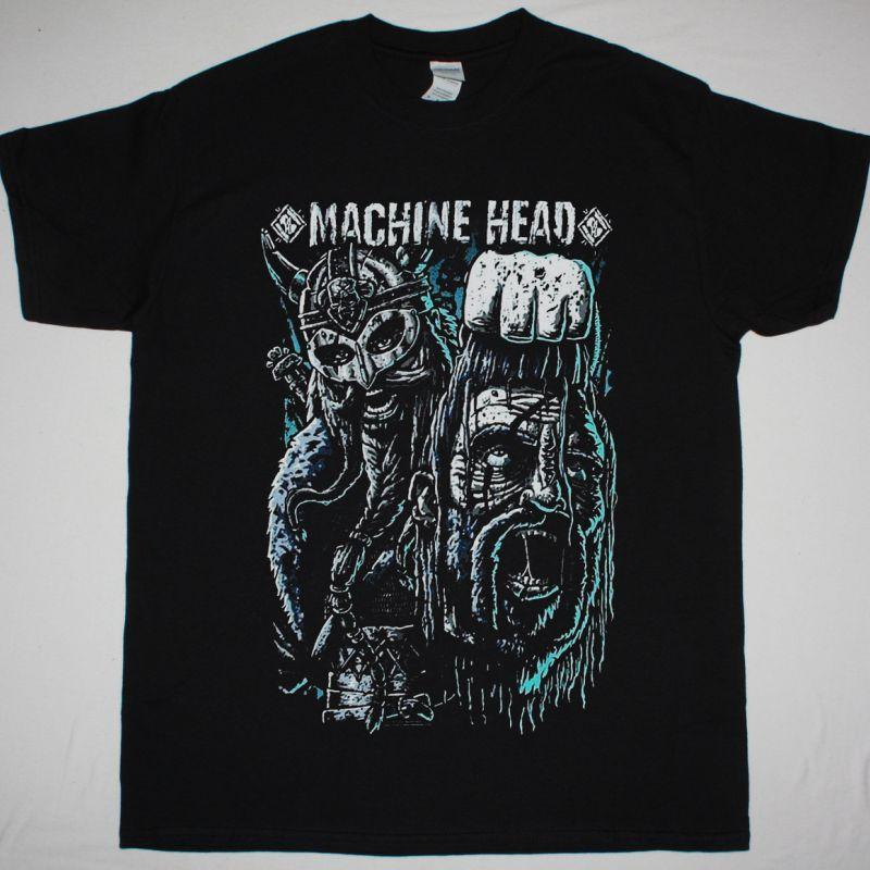 MACHINE HEAD HOIST THE HEAD OF GOLIATH NEW BLACK T-SHIRT