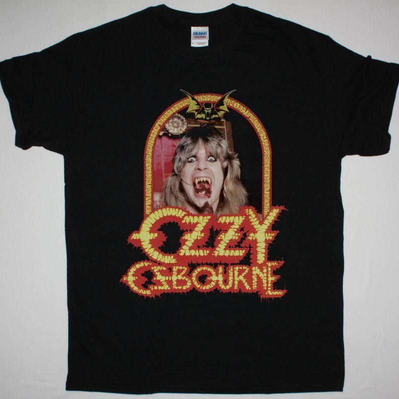 OZZY OSBOURNE SPEAK OF THE DEVIL  NEW BLACK T-SHIRT
