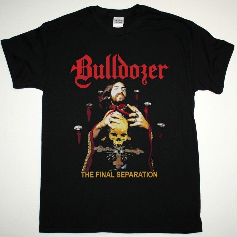 BULLDOZER THE FINAL SEPARATION 1986 NEW BLACK T-SHIRT
