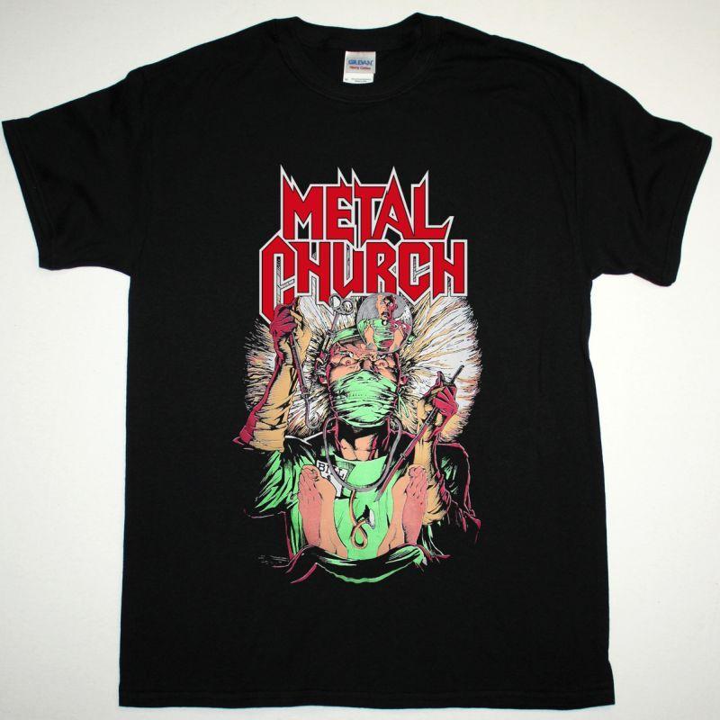 METAL CHURCH FAKE HEALER NEW BLACK T-SHIRT