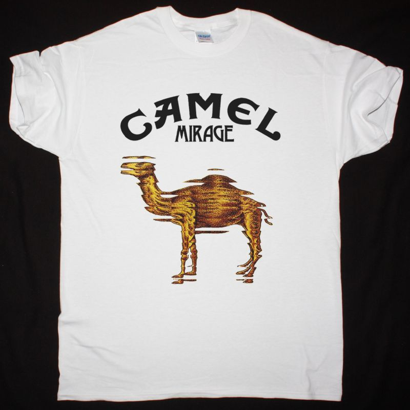 CAMEL MIRAGE 1974 NEW WHITE T SHIRT