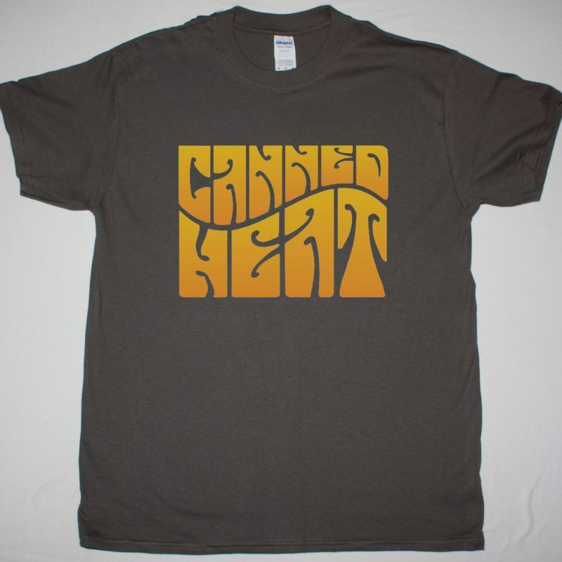 CANNED HEAT LIVE AT MONTREUX NEW GREY T SHIRT